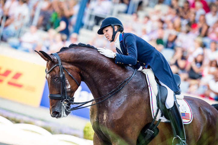 Hello, Number One: Laura Graves Has Made U.S. Dressage History