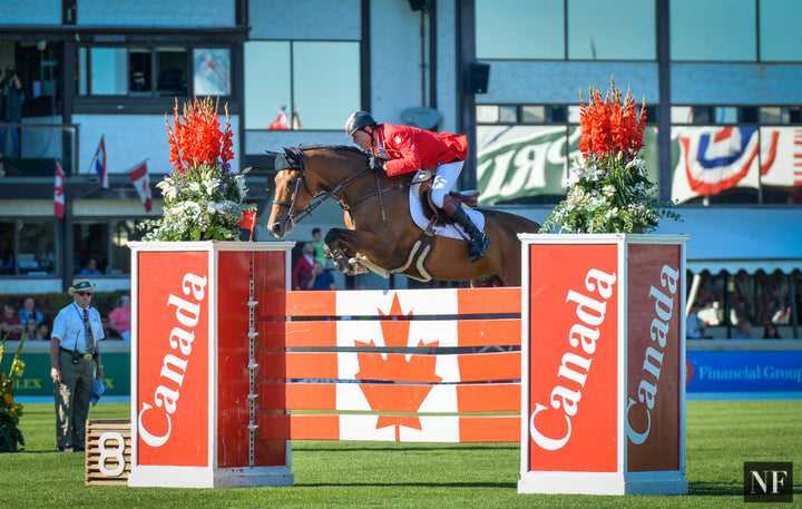 Ian Millar & Dixson compete at Spruce Meadows, September 2015