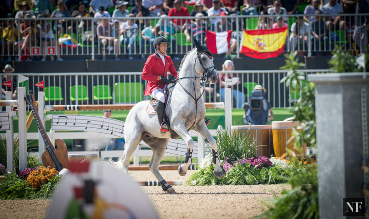 Nicola Philippaerts of Belgium was disqualified due to overuse of spurs after Round 1 of the Rio Olympic Games.
