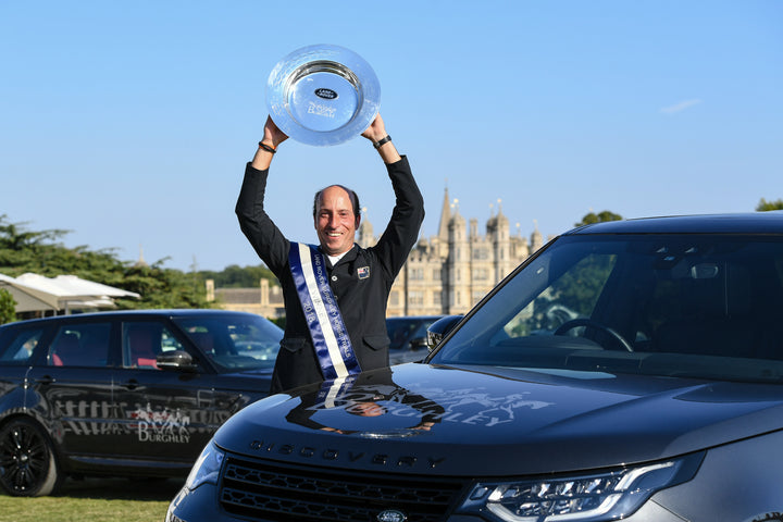 Tim Price Wins Land Rover Burghley Horse Trials; Prices Become Ultimate Power Couple of Eventing