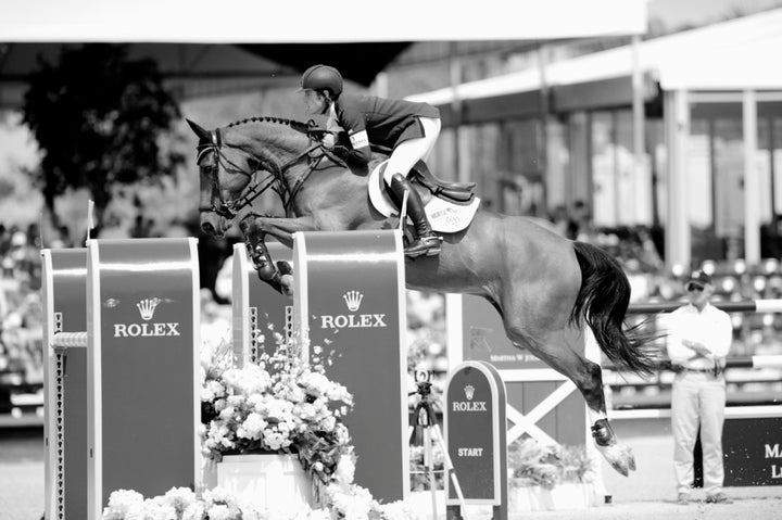 Scott and Hello Sanctos winning the final 2014 FTI Consulting $500,000 Finale Grand Prix in Wellington