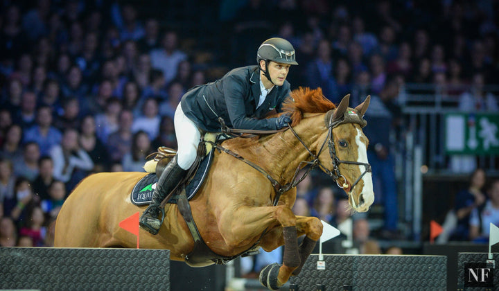 Tinka's Serenade was 3rd in the Longines Masters Grand Prix of Paris, December 2015