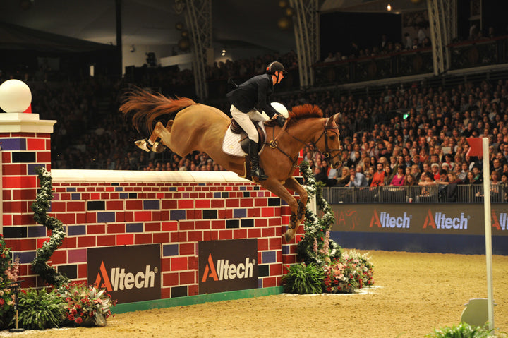 VERLOOY Jos ( BEL ) riding Sunshine joint winner puissance