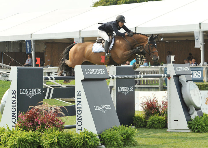 With Wings and Karen Polle Win $250,000 Hampton Classic Grand Prix Presented by Longines - McMillen Photo