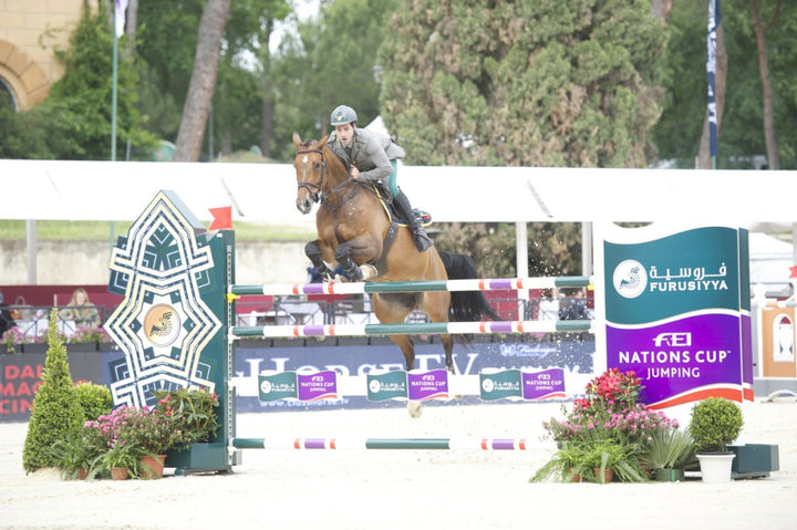 Emmanuele Gaudiano will compete in Poland for the Furusiyya Nations Cup Division 2