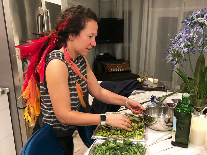 Danielle Goldstein's Day Off: Martial Arts, Paella, and Knife Throwing