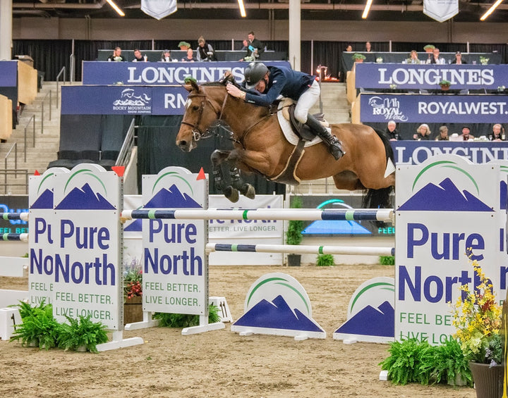 Daniel Coyle Speeds to Victory in $35,000 Friends of Rocky Mountain Cup at Royal West CSI3*-W