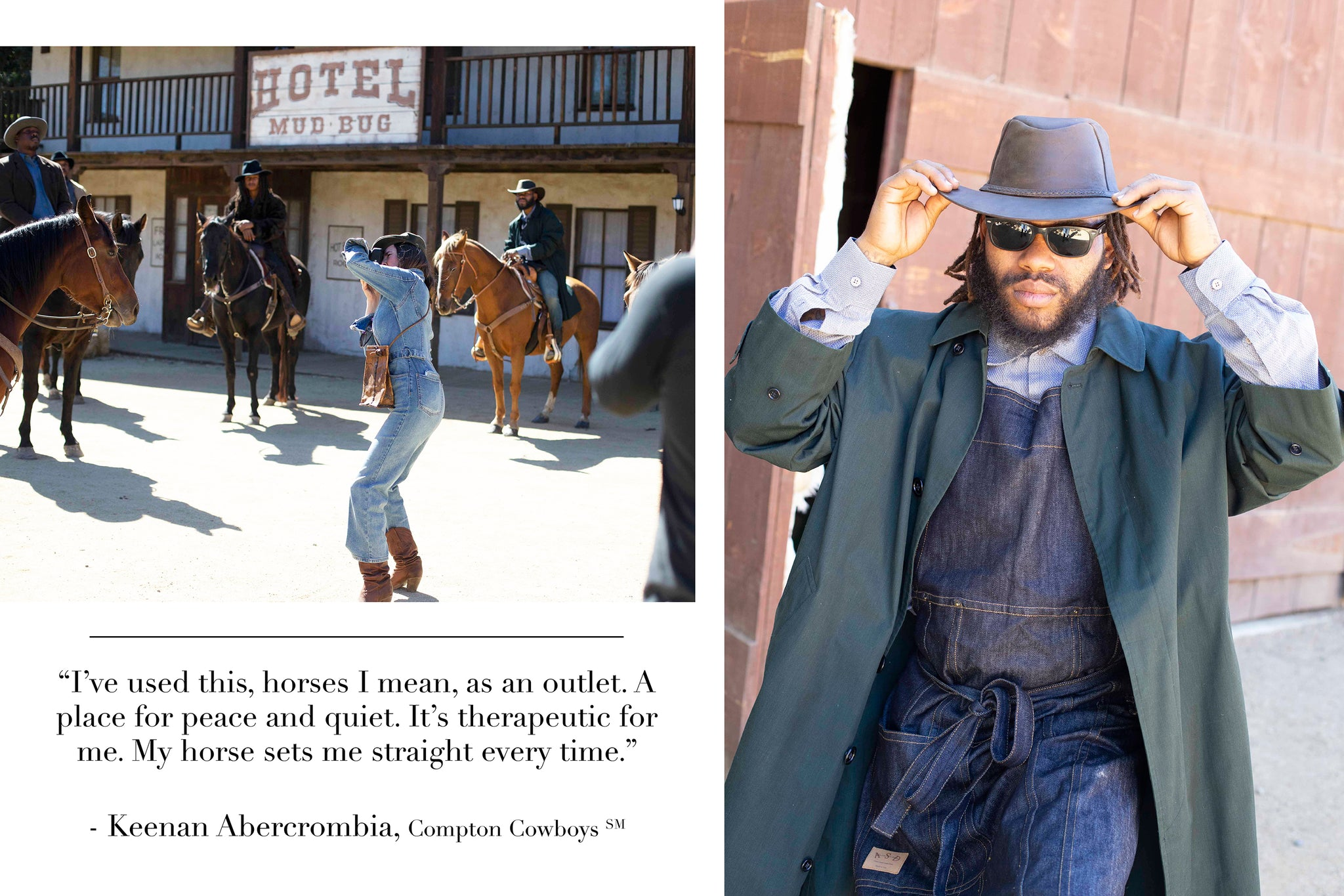 c87f652ab8c30 Modern Day Horsemen  Behind the Scenes With the Compton Cowboys x ...