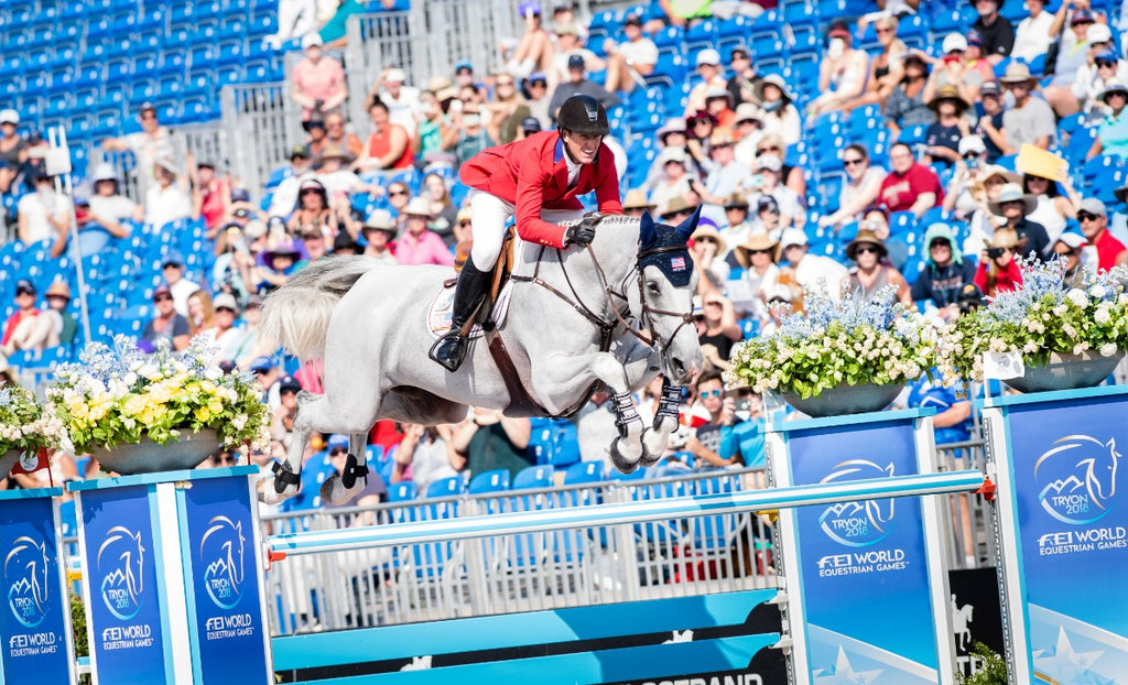 Nothing Is Certain in Tryon: WEG Show Jumping Day Two Shakes Things