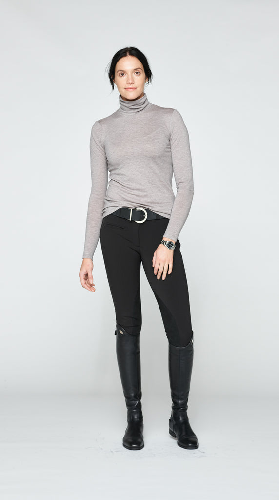 The Turtleneck - Light Grey