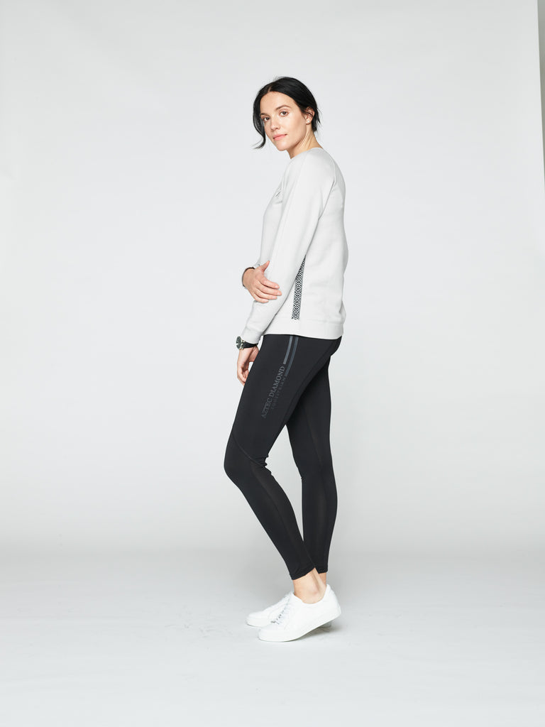 The Andrea Sweater - Light Grey