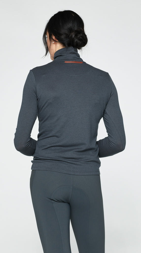 The Turtleneck - Dark Grey