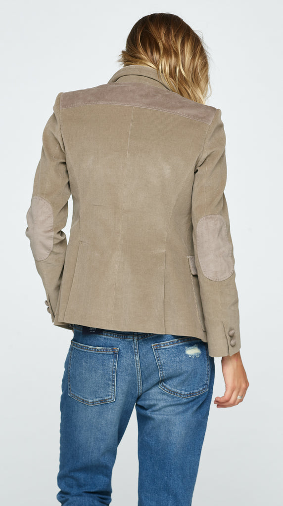 The Edwina Corderoy Jacket - Hazelnut