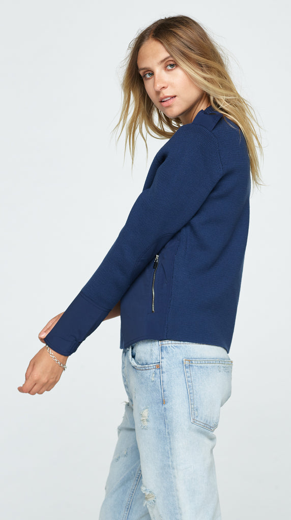 The Clover Sweater - Navy