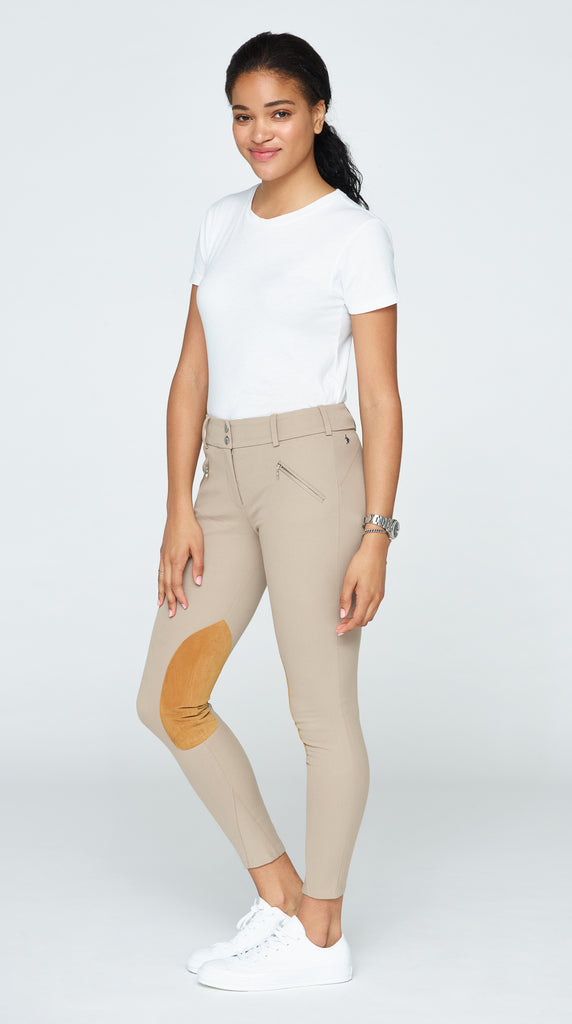 The Derby Riding Pant - Tan
