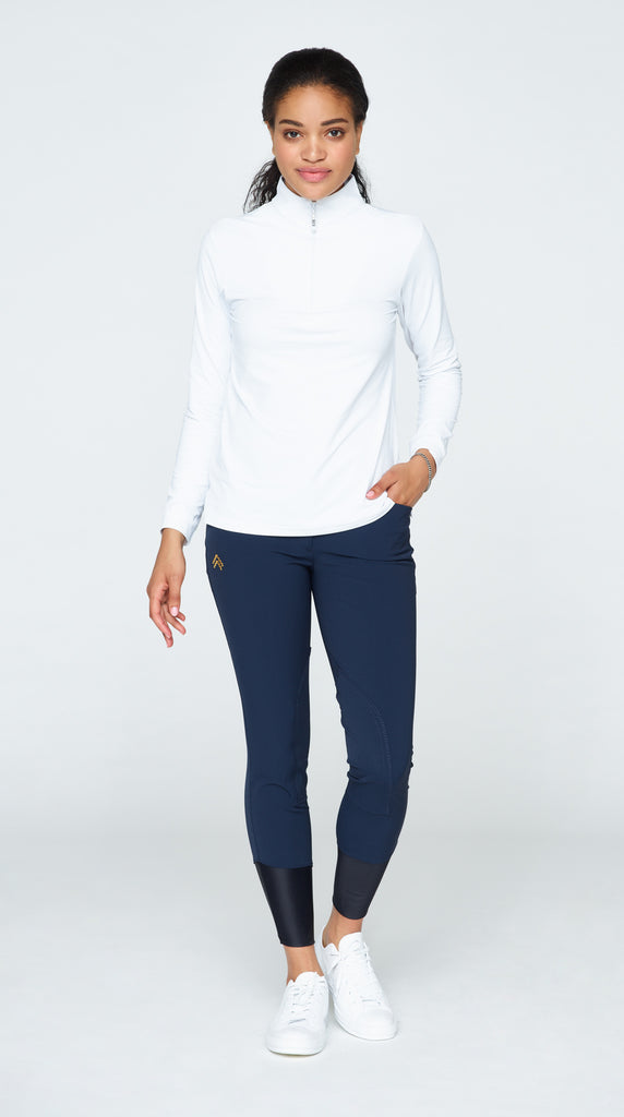 Javi Breeches - Navy