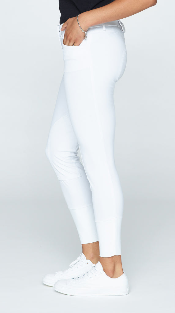 Javi Breeches - White