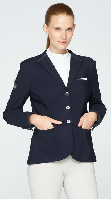 Victorine Show Coat - Black