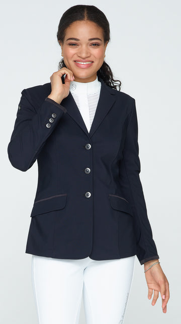 Alix Show Coat - Black