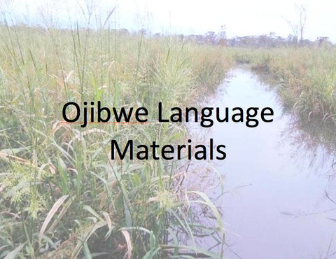 Ojibwe Language Materials