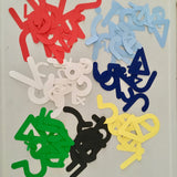 Bulletin Board Die Cut Syllabics