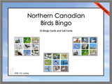 Northern Canadian Birds Bingo - Printed Product