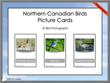 Northern Canadian Birds Cards - Printed Product