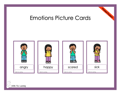 Emotions Picture Cards  - Printed Product