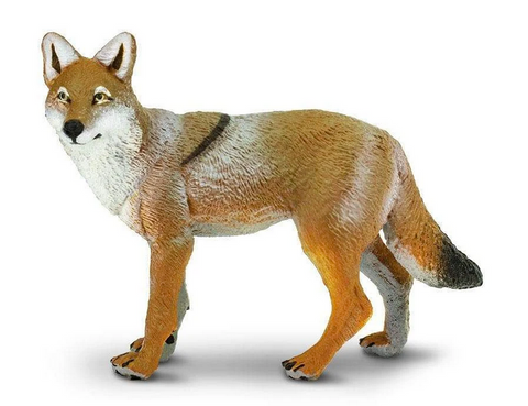 Coyote figurine