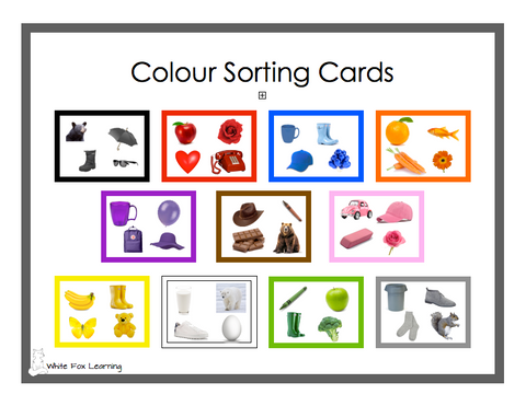 Colour Matching Cards