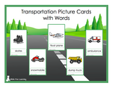 Transportation Picture Cards - Digital Product