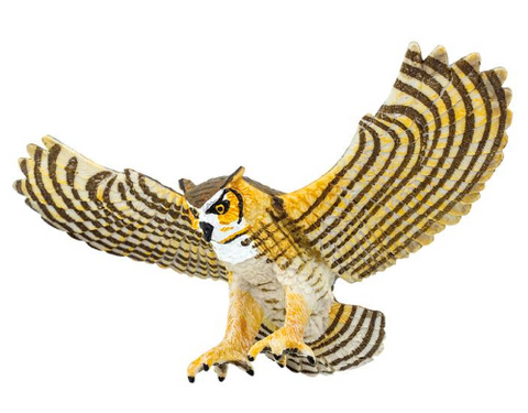 Great Horned Owl figurine