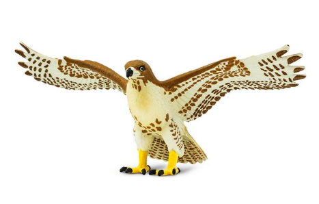 Red-tailed Hawk figurine