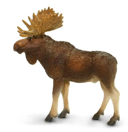 Moose (bull) figurine