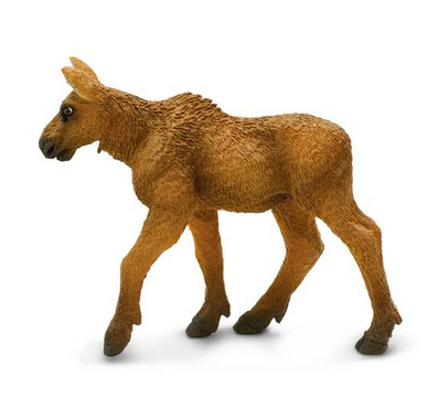 Moose (calf) figurine