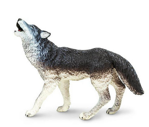 Timber Wolf figurine
