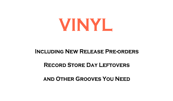 "Vinyl LPs, 7"" and 10"" Records"