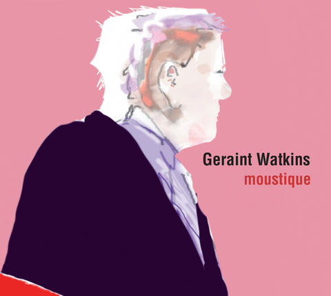 Geraint Watkins 'Moustique' CD 2014 album digipak