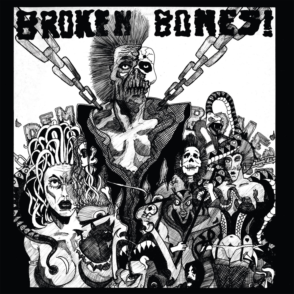 Broken Bones 'Dem Bones'/'Decapitated' CD debut 1984 + singles '83-86 ex-Discharge