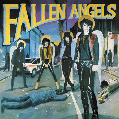 Fallen Angels: Knox of The Vibrators + Hanoi Rocks 'Fallen Angels' 2xLP limited coloured vinyl