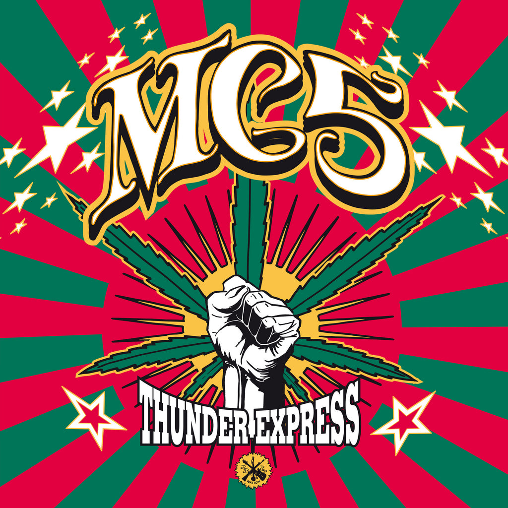 MC5 'Thunder Express' CD with 12-page booklet