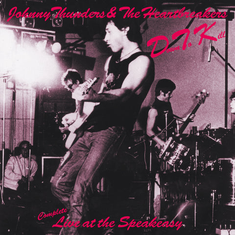 Johnny Thunders & the Heartbreakers 'D.T.K. - live at the Speakeasy' CD with 16-p booklet
