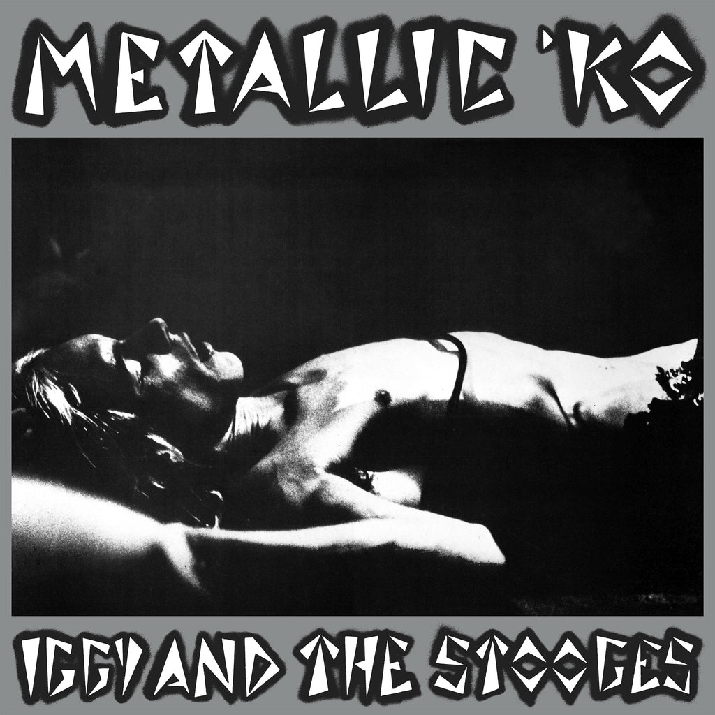 Iggy & the Stooges 'Metallic K.O.' vinyl LP + poster