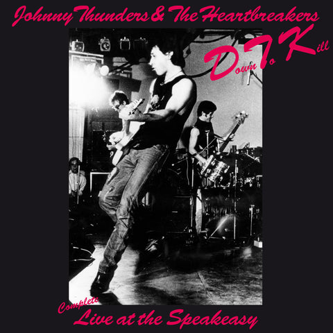 Johnny Thunders & the Heartbreakers 'D.T.K. - live at the Speakeasy' DEEP RED on WHITE coloured vinyl