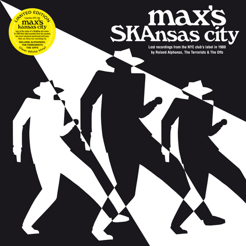 Roland Alphonso, The Terrorists, The Offs 'Max's SKAnsas City' LP in limited milky white vinyl