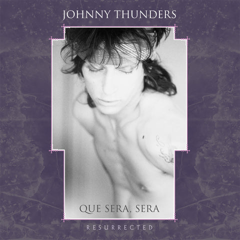 Johnny Thunders 'Que Sera, Sera - Resurrected' 2xLP ltd purple & white vinyl