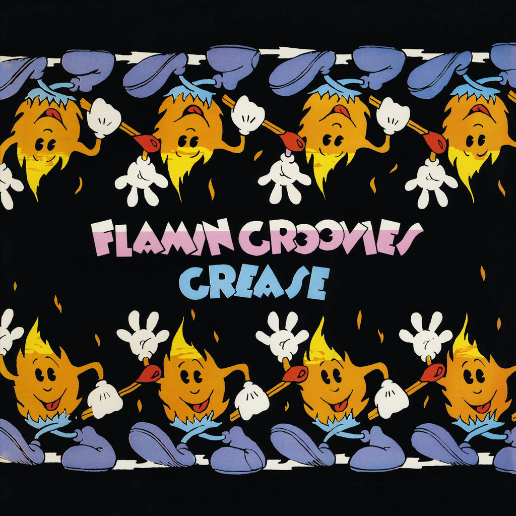 Flamin Groovies 'Grease' 2xLP violet vinyl Skydog singles & EPs collection 1973-81