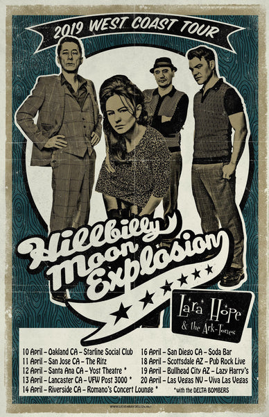 The Hillbilly Moon Explosion 'The Sparky Sessions' CD new release
