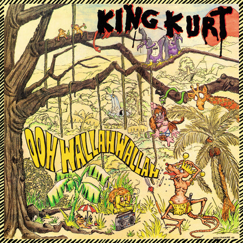 King Kurt 'Ooh Wallah Wallah' 35th anniversary limited yellow vinyl LP