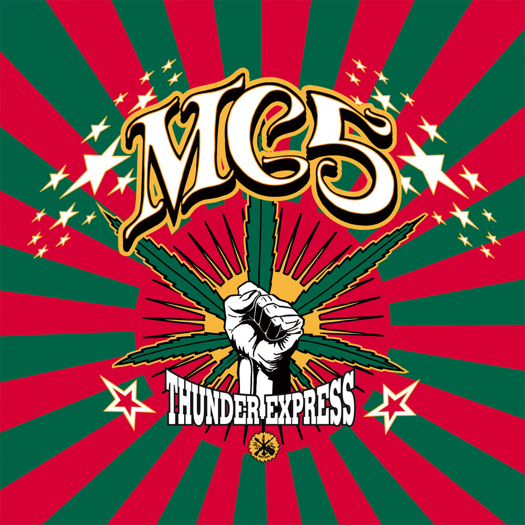 MC5 'Thunder Express' limited RED & GREEN splattered vinyl LP